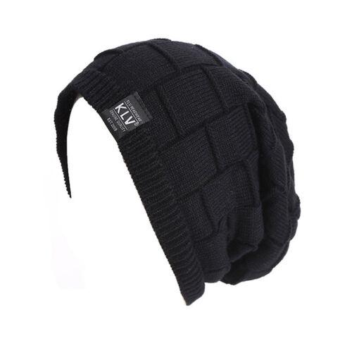 Trendy Unisex Adult Cap Winter Outdoor Sports Knit Warm Soft Beanie Hat S8