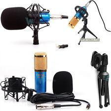 Condenser Sound Studio Recording Microphone Mic Dynamic w Tripod Stand & Mo