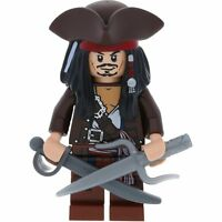 Lego Pirates Of The Caribbean Fluch Der Karibik Minifigur Captain Jack Sparrow A