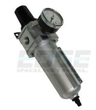 Heavy Duty Filter Regulator For Compressed Air Tubing Piping Compressor 12
