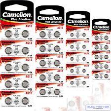 140x  Camelion AG0,1 ,2 ,3,4 ,5 ,6 ,7 ,8 ,9,10 ,11 ,12,13  je 10x SORTIMENT 1,5V