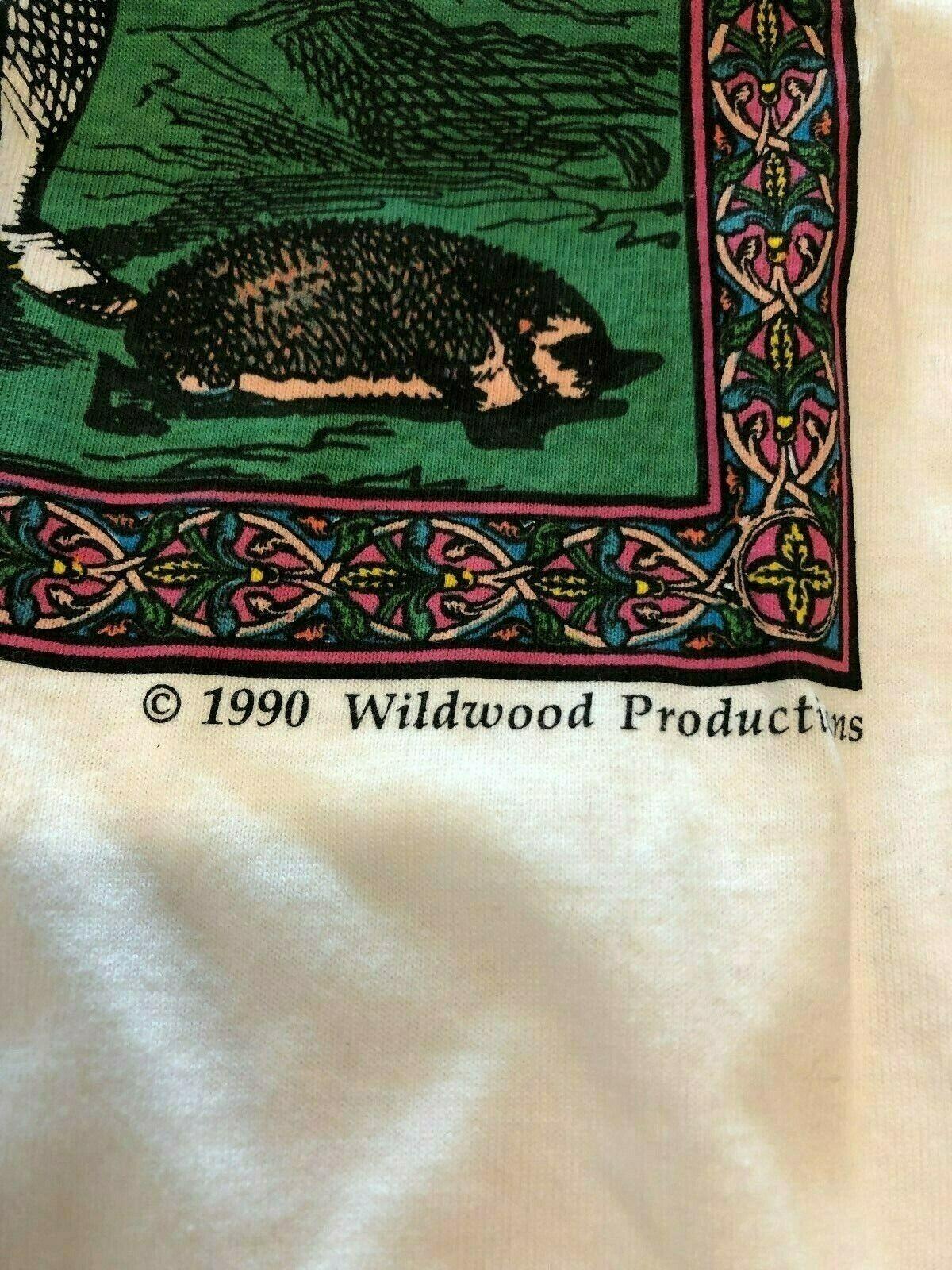 Vintage T Shirt - John Tenniels Illustrations Of … - image 3