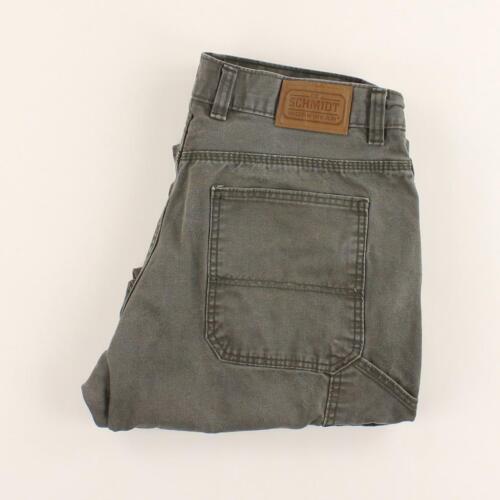 Zip Schmidt Pantalons Taille Fly 36x30 Menuisier Workwear w7tqF178