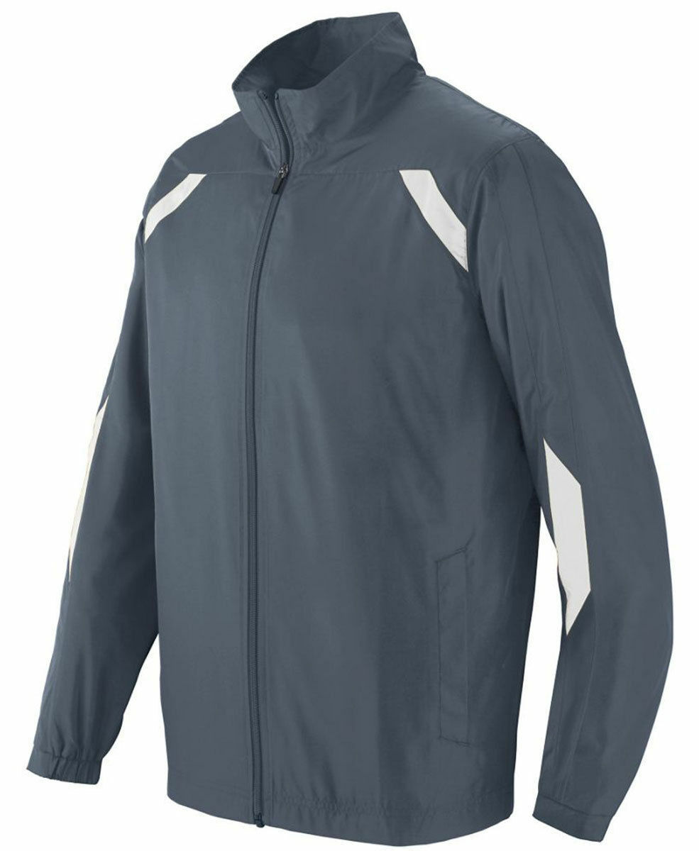Augusta Sportswear Men's Polyester Open Bottom Front Zipper Avail Jacket. 3500