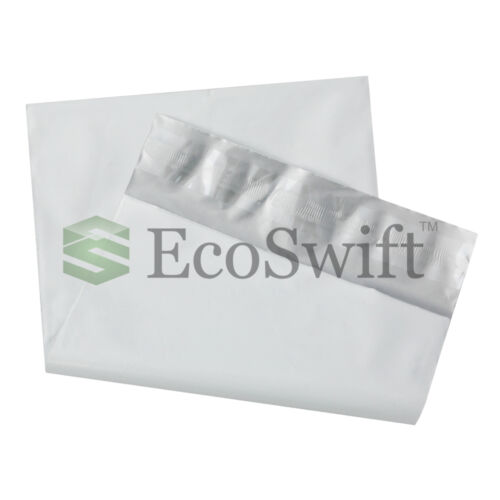 35 5x7 White Poly Mailers Shipping Envelopes Self Sealing Bags 1.7 MIL 5 x 7