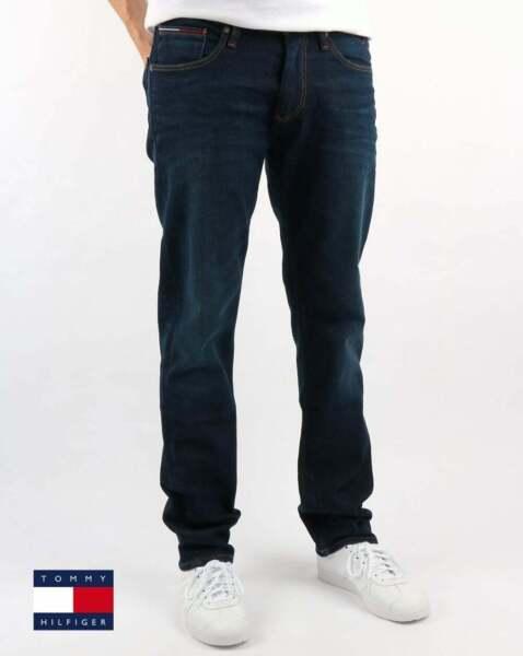 2019 úLtimo DiseñO Tommy Hilfiger Ryan Calce Recto Jeans-vintage Oscuro Bnwt-ver