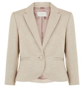 Natural Tara Hobbs £ Single Buttoned 199 Rrp Jacket Forskellige størrelser 5qUUdrWfT