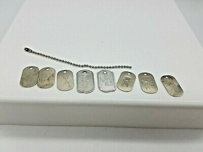 1//6 Scale GI Joe Vintage Metal Dog Tag Re-issue