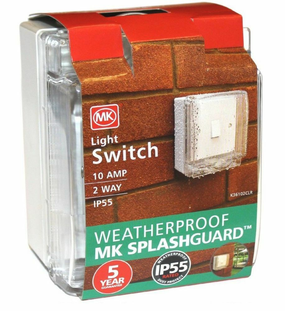 5xmk K36102 Ip55 10a 1g Gang 2 Way Light Switch Outdoor