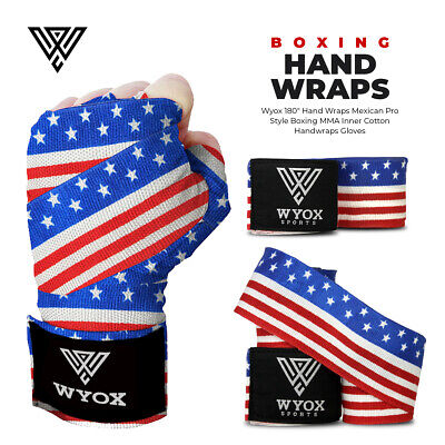 Boxing Fist Hand Inner Gloves Bandages MMA Muay Thai Protective Wraps