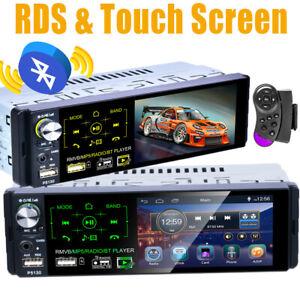 """1Din 4.1"""" Autoradio Lettore MP5 Toccare capacitivo Schermo Bluetooth FM RDS USB"""