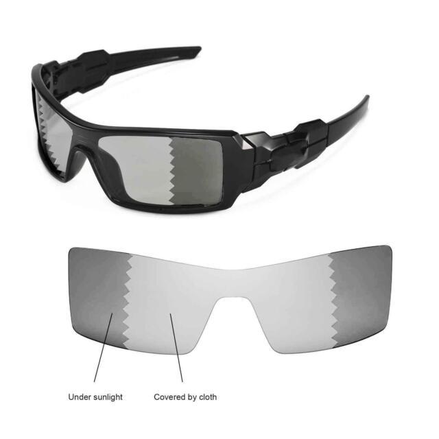 bed110ce4b Walleva Polarized Transition photochromic Lenses for Oakley Oil Rig ...