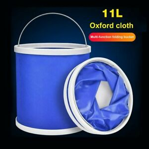 11L-Foldable-Bucket-Folding-Retractable-Collapsible-Silicone-Bucket-Car-Fishing