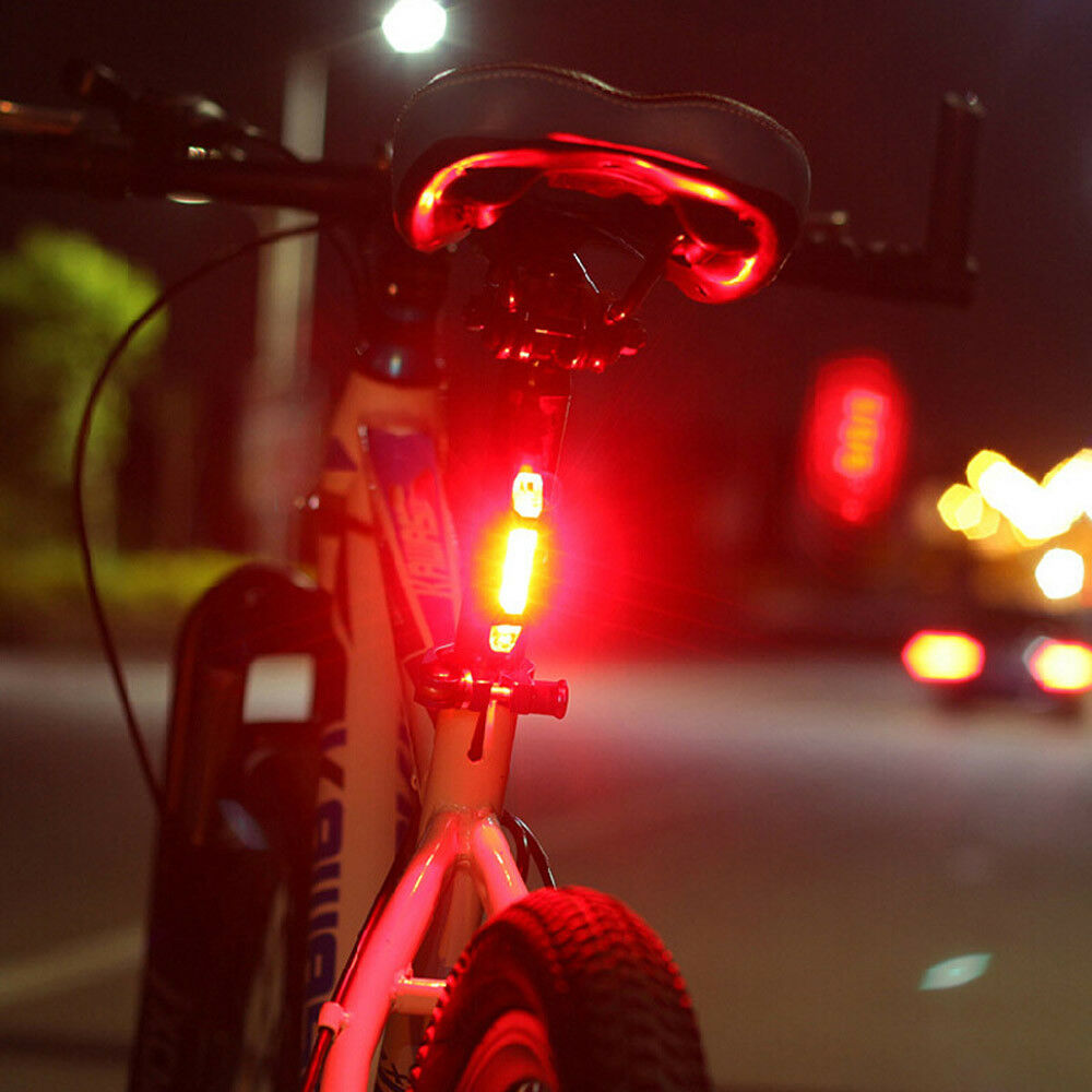 T6Luci Bici Led USB Ricaricabile Anteriore Posteriore Faro Fanale Bicicletta MTB 8