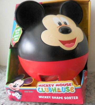 Disney Mickey Mouse Clubhouse Shape Sorter Toy Mickey