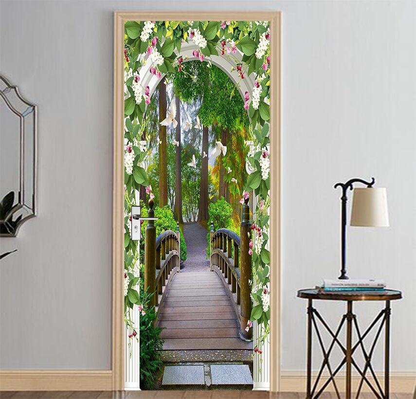 3D Die Taube Tür Wandmalerei Wandaufkleber Aufkleber AJ WALLPAPER DE Kyra
