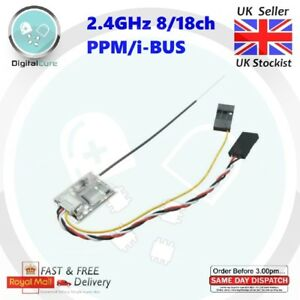 2-4Ghz-8-18CH-Micro-Receiver-PPM-i-BUS-SBUS-For-FlySky-FS-A8S-i6-i10-1st