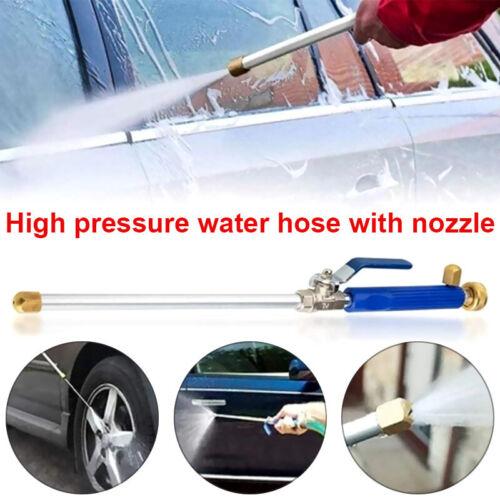 High Pressure Power Washer New Hydro Jet Water Spray Gun Nozzle Wand AttacQE
