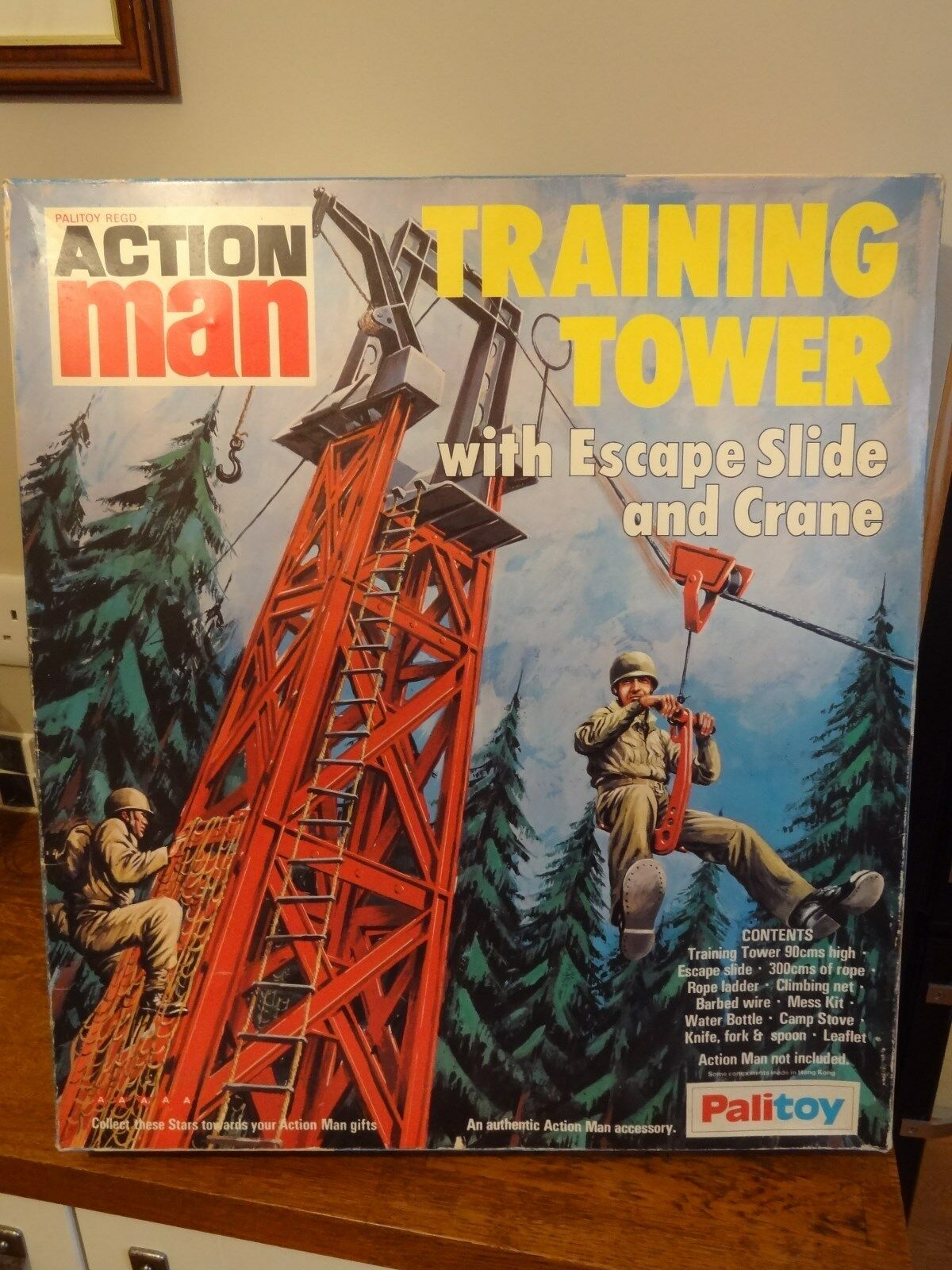 VINTAGE PALITOY ACTION MAN TRAINING TOWER - SUPERB  L@@K