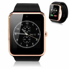 GT08 Touch Screen Bluetooth Smart Wrist Watch Phone For Android IOS LG Utility