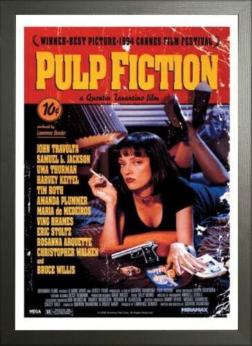 Encadrée Pulp Fiction Maxi Poster 61 x 91,5 cm 36x24 pouces