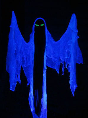 REAPER FLYING CRANK GHOST FCG ANIMATED MOTORIZED HALLOWEEN PROP ALUMINIUM RIG
