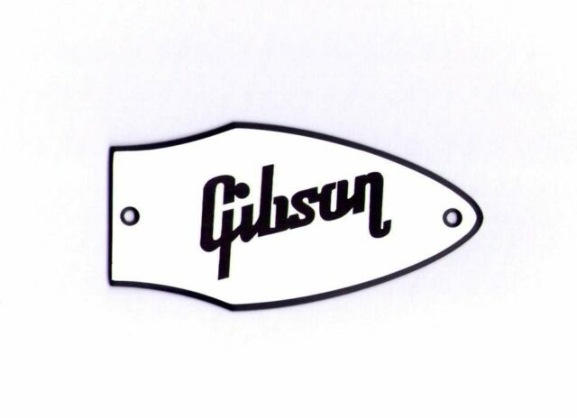 flying v truss rod cover name plate for gibson guitar (white blackflying v bass truss rod cover name plate for gibson bass guitar (white black