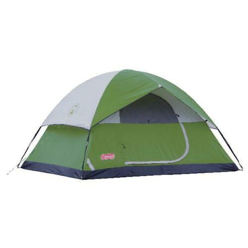 Coleman Sundome Easy Setup 6 Person Camping Tent Green