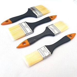 Lot-de-4-peinture-Brush-Set-Home-Peinture-Decoration-Gloss-Emulsion-couche-primaire-1-5-034-3-034