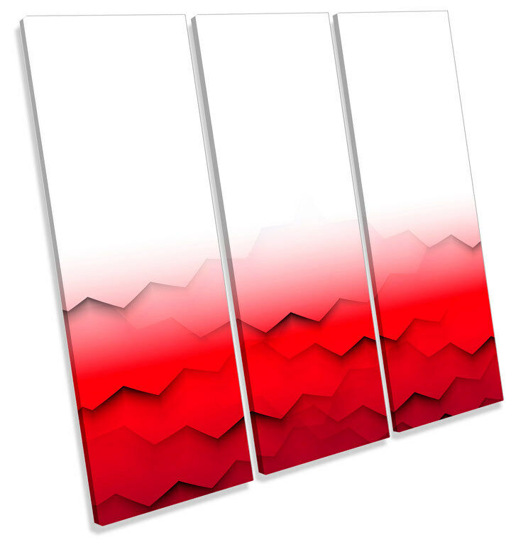 Abstract Abstract Abstract Modern Waves TREBLE CANVAS WALL ART Square Print Picture 701a69