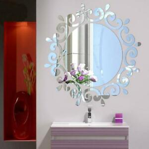 Removable-3D-Mirror-Flower-Art-Wall-Sticker-Acrylic-Mural-Decal-Home-Room-Decor