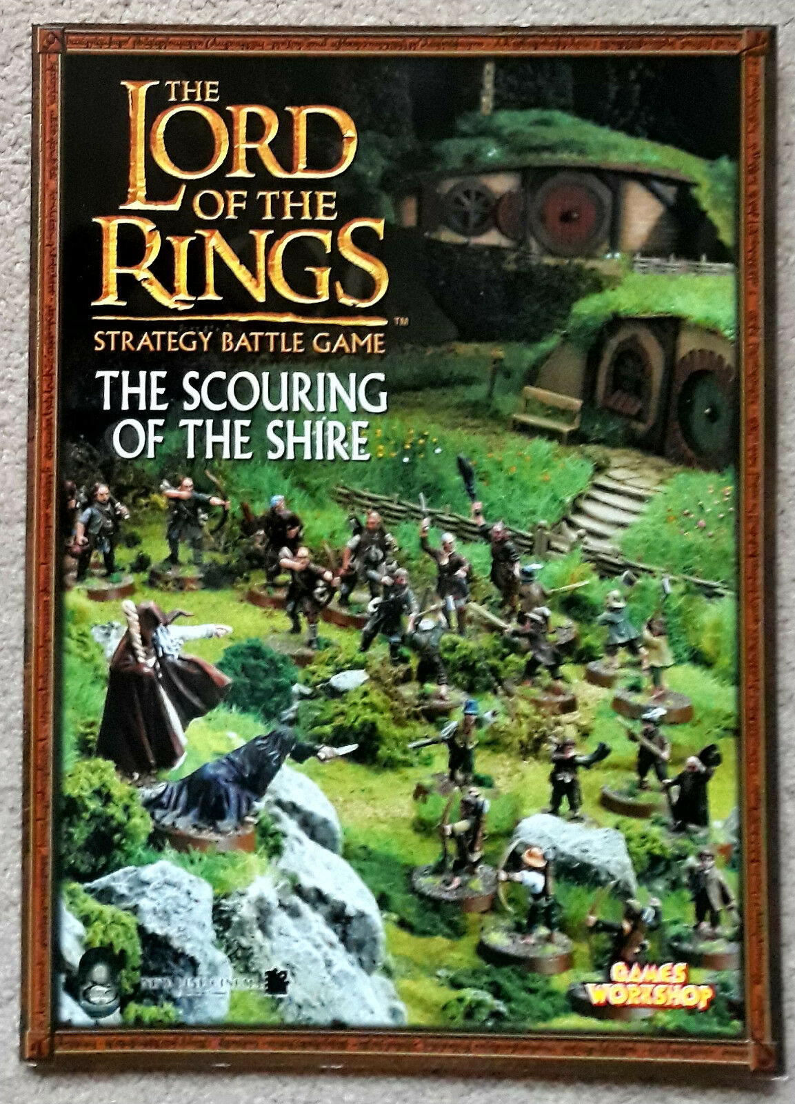 Lord of the Rings The Scouring of the Shire Rulebook - New - Free UK Postage