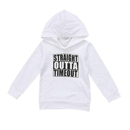 Fashion Kids Toddler Baby Boys Hooded Sweatshirts Blouse Hoodies Tops Tracksuit