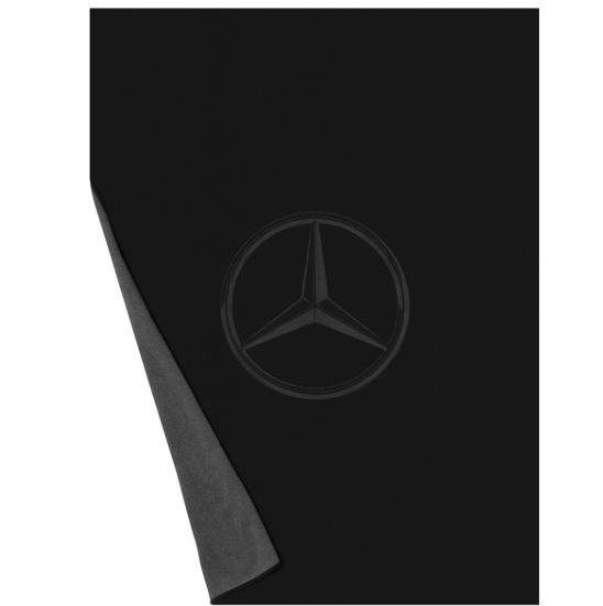 Mercedes Benz Original Actros Fleece Blanket 200x150cm Black//Anthracite Nip