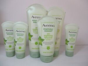 6-AVEENO-POSITIVELY-RADIANT-SKIN-BRIGHTENING-SCRUB-AS-PICTURED-JL-11390