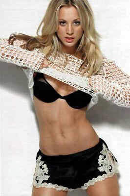 Kaley Cuoco 12 Actress Producer  8X10 Photo Reprint