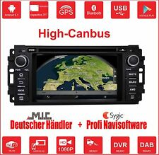 Android 5.1 Autoradio Naviceiver :Dodge Jeep Chrysler Grand Cherokee high Canbus