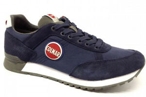 Navy Colmar Gray Scarpe Sneakers Man dark Colors Travis Uomo Da Ginnastica EqAyTFwA4r