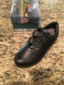 SAS Me Too Black 11 Wide, Women's Shoes