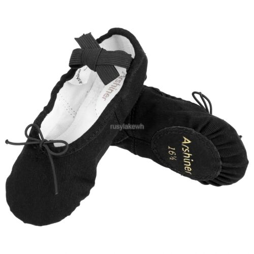 Soft Comfort Children Kids Solid dance Ballet Shoes Sweet size 23~33 Dancewear