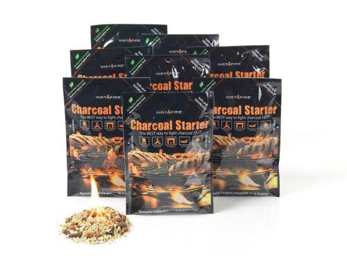 InstaFire Charcoal Briquette Starter 8 Burnable Packs New