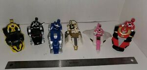Mighty Morphin Power Rangers 1995 Movies Spirit Animal Vehicle full Set with fig