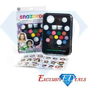 SNAZAROO-ULTIMATE-PARTY-PACK-Face-Painting-Kit-Face-amp-Body-Paint-65-Faces