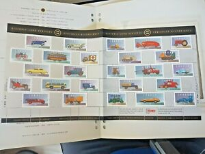 Canada - Pane of 25 Stamps - Historic Land Vehicles Collections #1605 #72 MNH