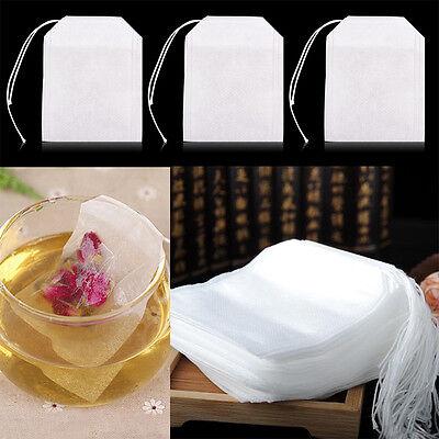 100 pcs Pumping Line Tea Bag Tea Bag Air Filter Paper Bag Green Tea Bags
