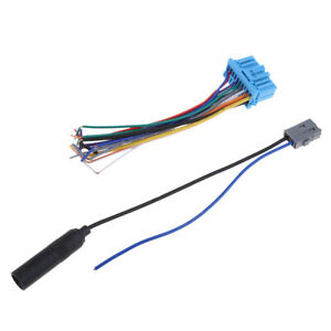 Details about Car Radio Wiring Harness and Antenna Cable Kits for  on