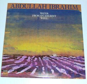 Abdullah Ibrahim Water From An Ancient Well Ekapa Blackhawk Jazz record vinyl