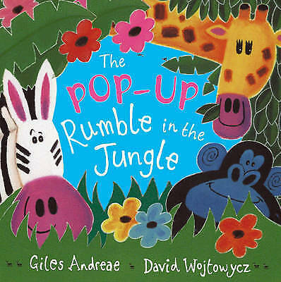 """""""VERY GOOD"""" Rumble in the Jungle: Pop-up Book, Andreae, Giles, Book"""