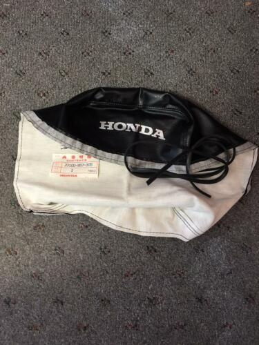 *NEW RARE OEM HONDA BLACK LEATHER SEAT COVER W// EDGING ATC70 KT 77100-957-305