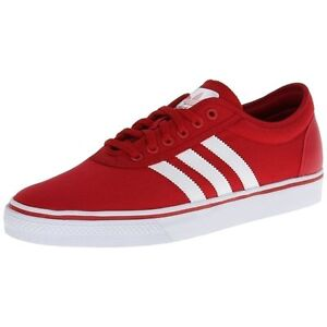 newest 9f32b 39f17 Image is loading ADIDAS-ADI-EASY-LOW-SNEAKERS-MEN-SHOES-RED-